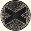 Saltire medallion